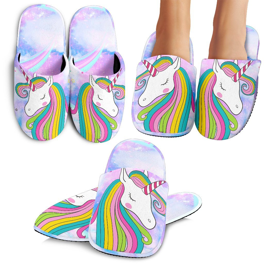 Unicorn Clouds Slippers - Express Delivery