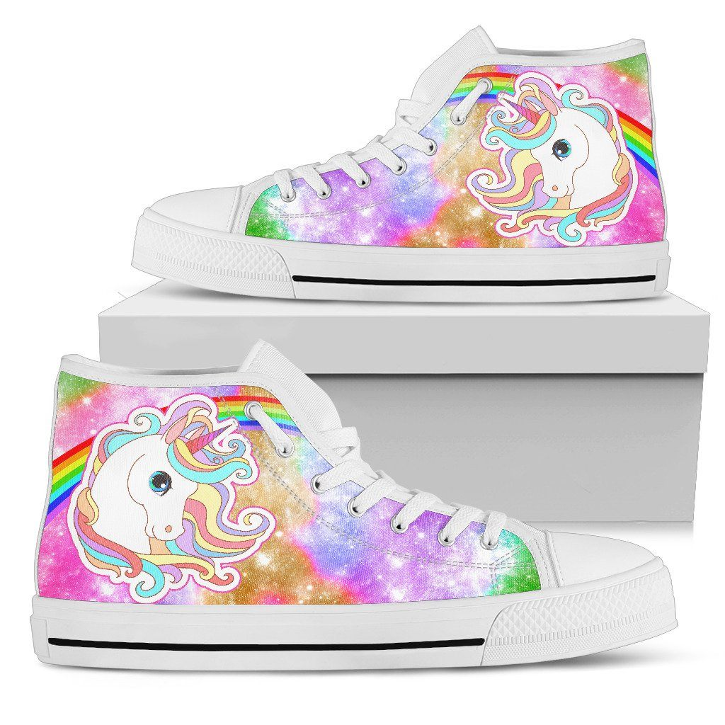 Unicorn Sparkle Women's High Top Sneakers sneakers
