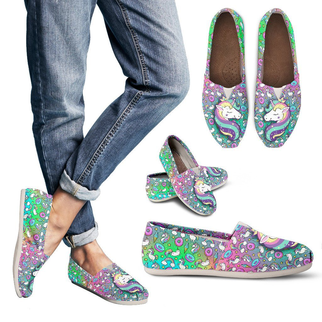 Unicorn Fantasy Women's Flats Shoes sneakers