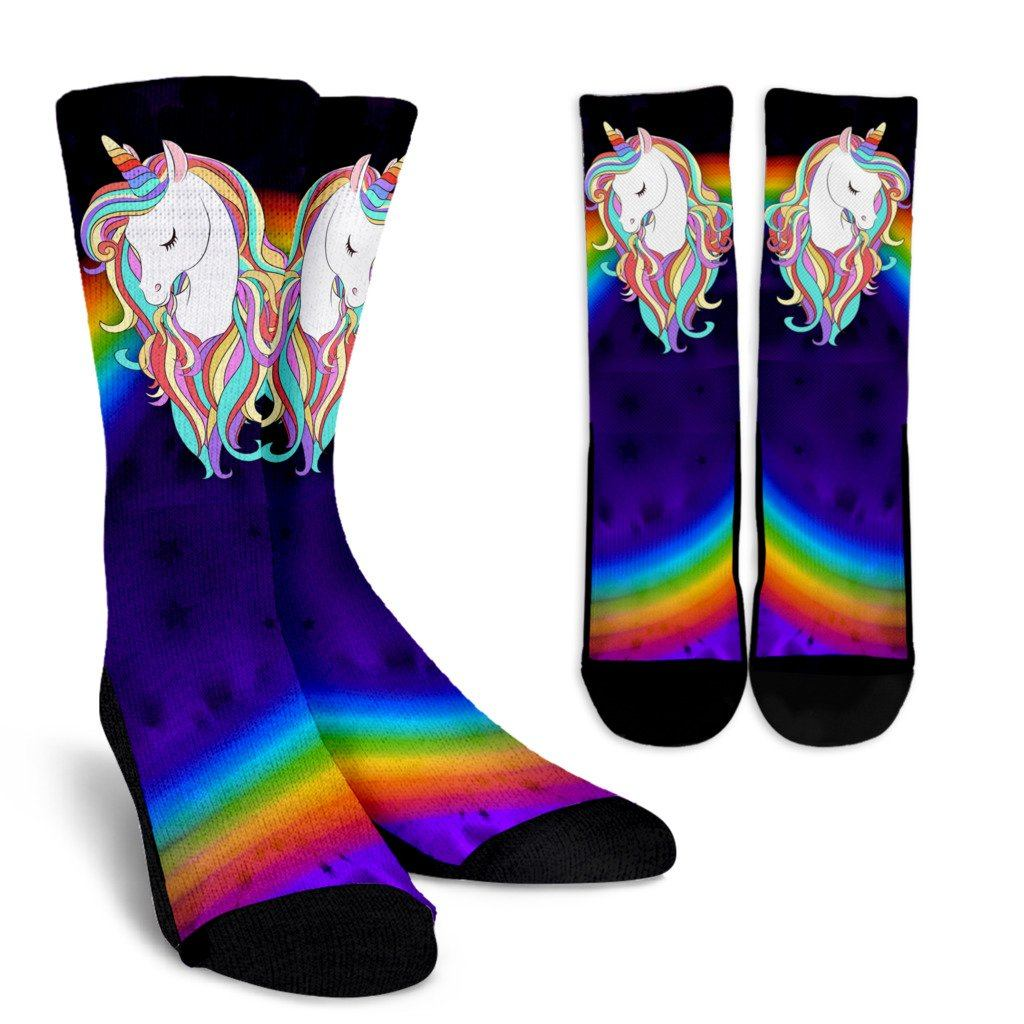 Unicorn Socks Socks Magical Unicorn Small/Medium