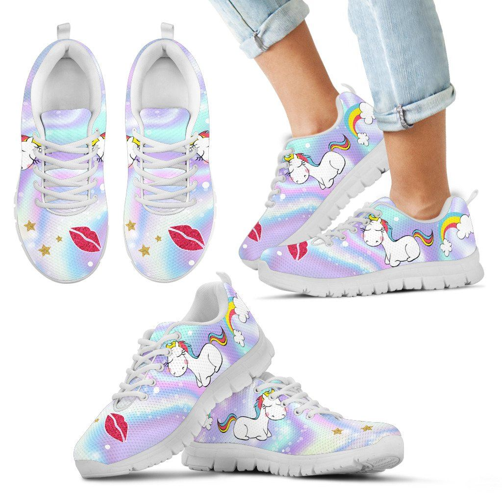 Happy Unicorn Kids Youth Sneakers sneakers