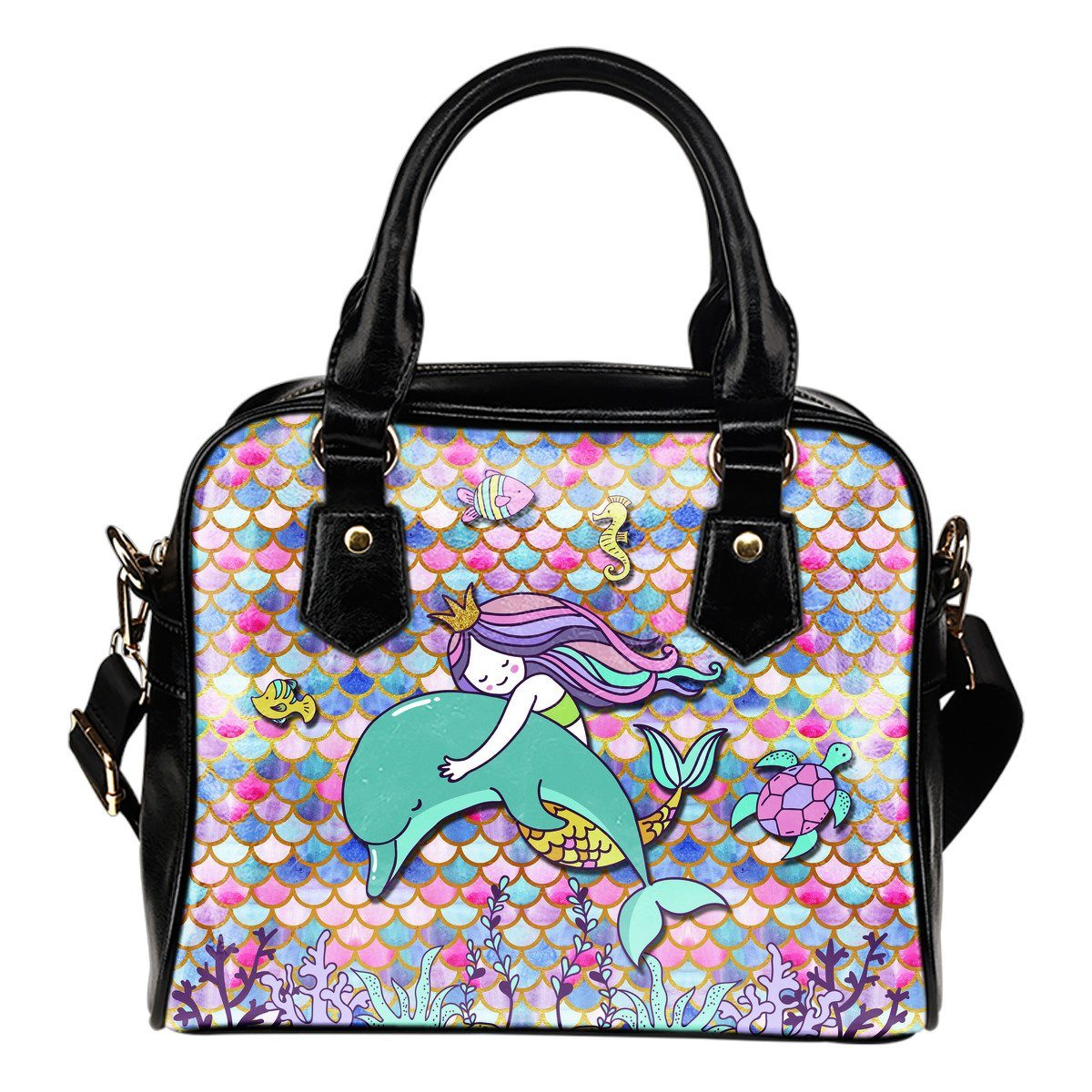 Mermaid Euphoria Shoulder Handbag Mermaid Purses