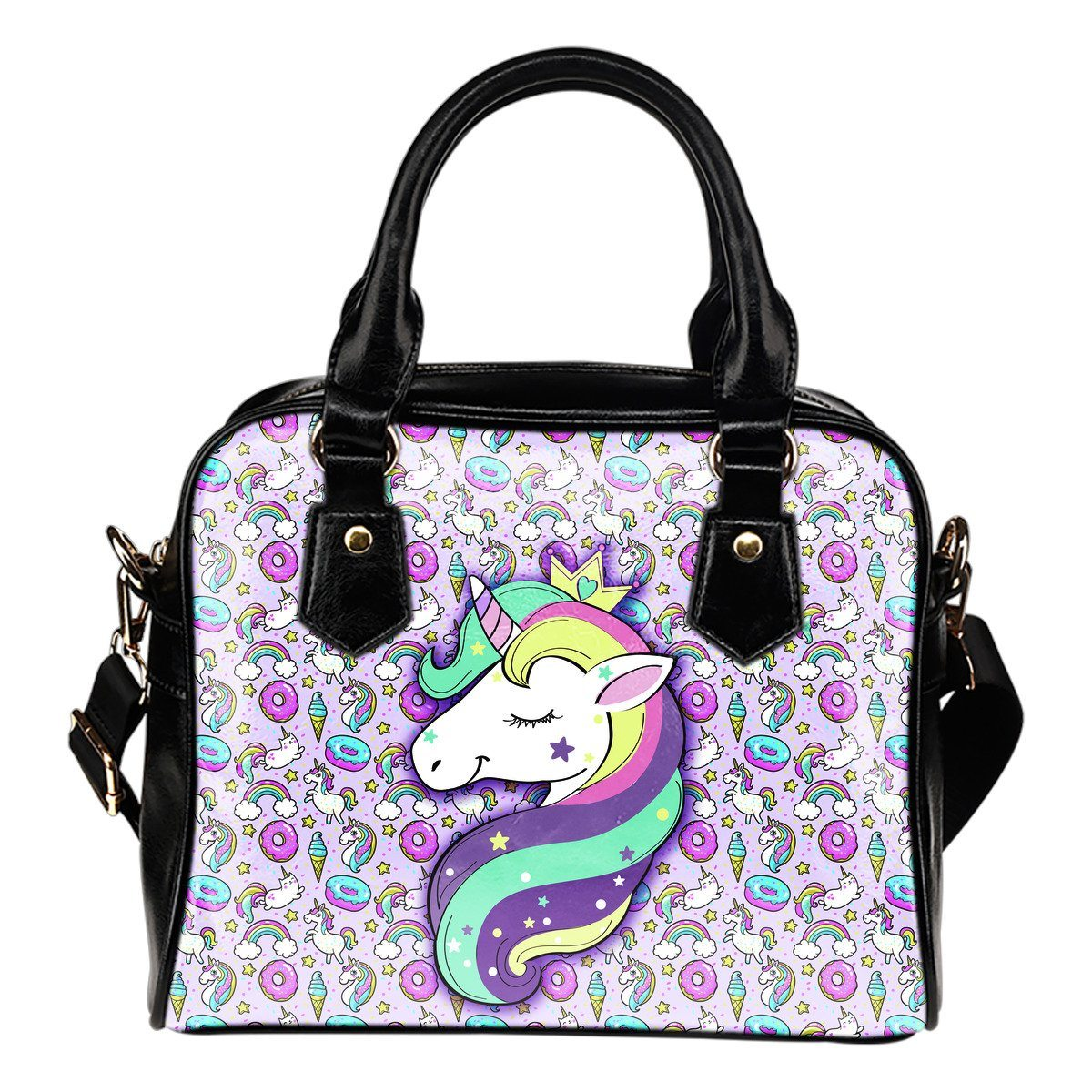 Unicorn Fantasy Shoulder Handbag Purses