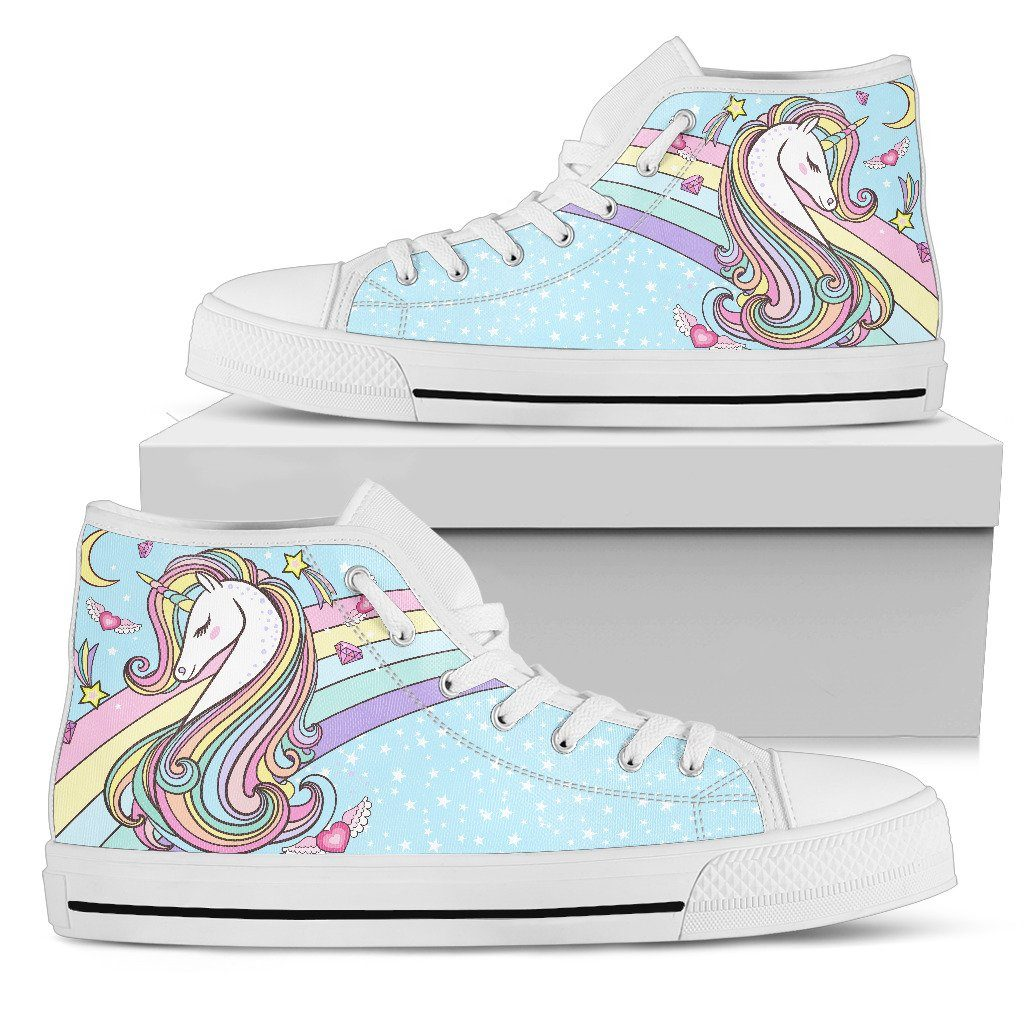 Forever Unicorn Women's High Top Sneakers sneakers