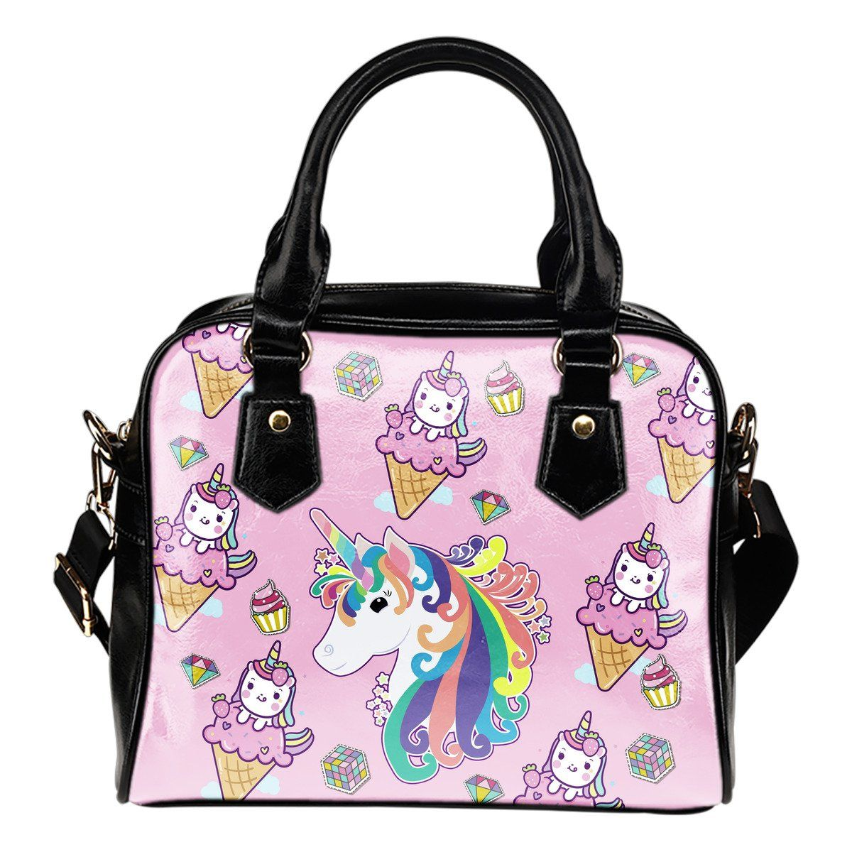 Twinkle Unicorn Shoulder Handbag Purse Purses