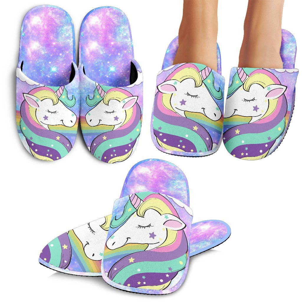 Unicorn Fantasy Slippers - Express Delivery