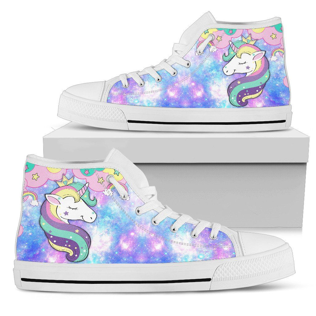 Unicorn Queen Women's High Top Sneakers sneakers