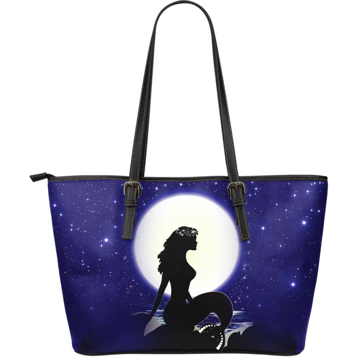 Mermaid Moon Shoulder Bag Purse Mermaid Purses