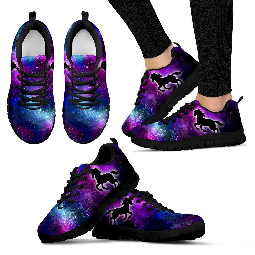 Unicorn Planet Sneakers sneakers Women's Sneakers - Black - Unicorn Planet Womens Sneakers US5 (EU35)