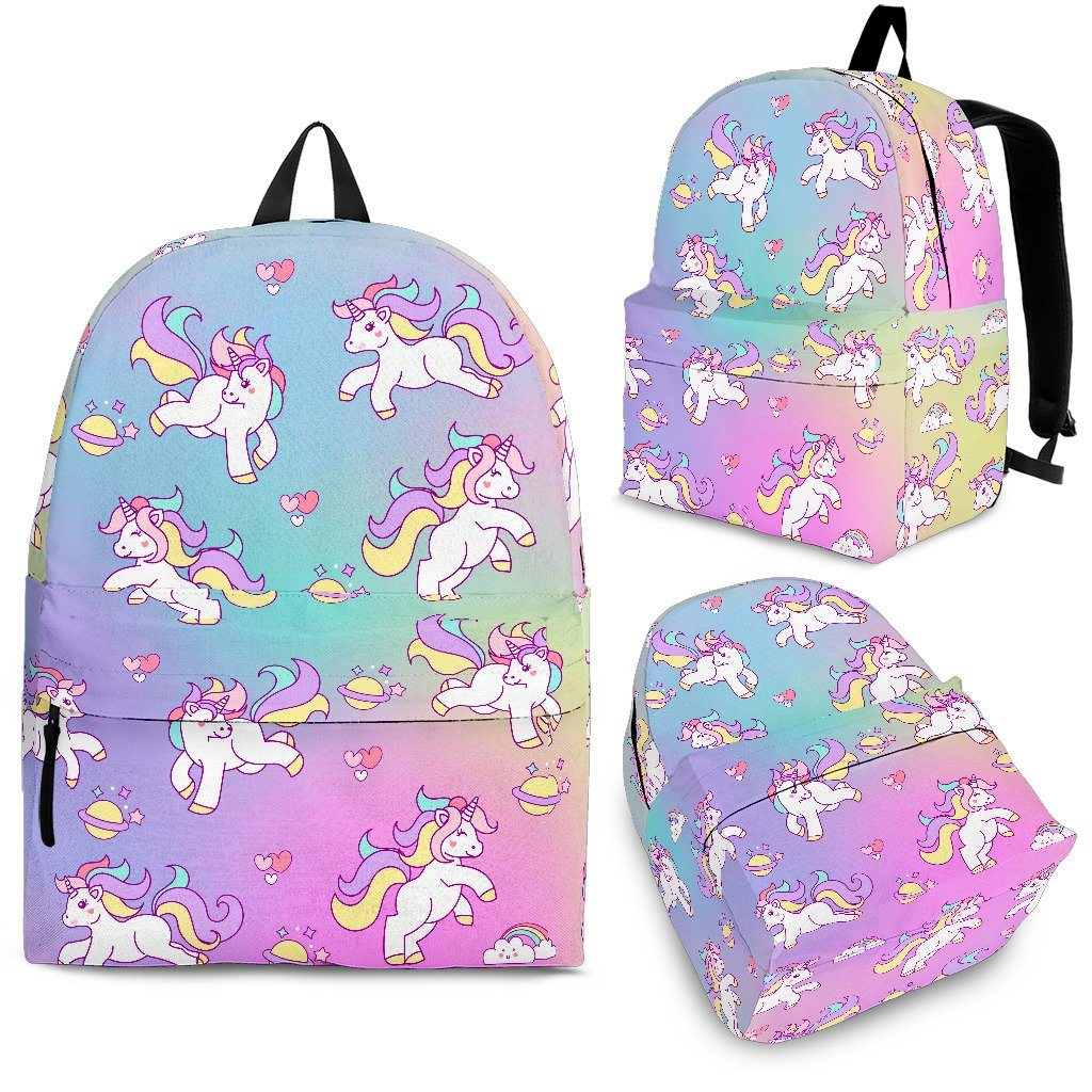 Unicorn Galaxy Backpack Unicorn Backpacks