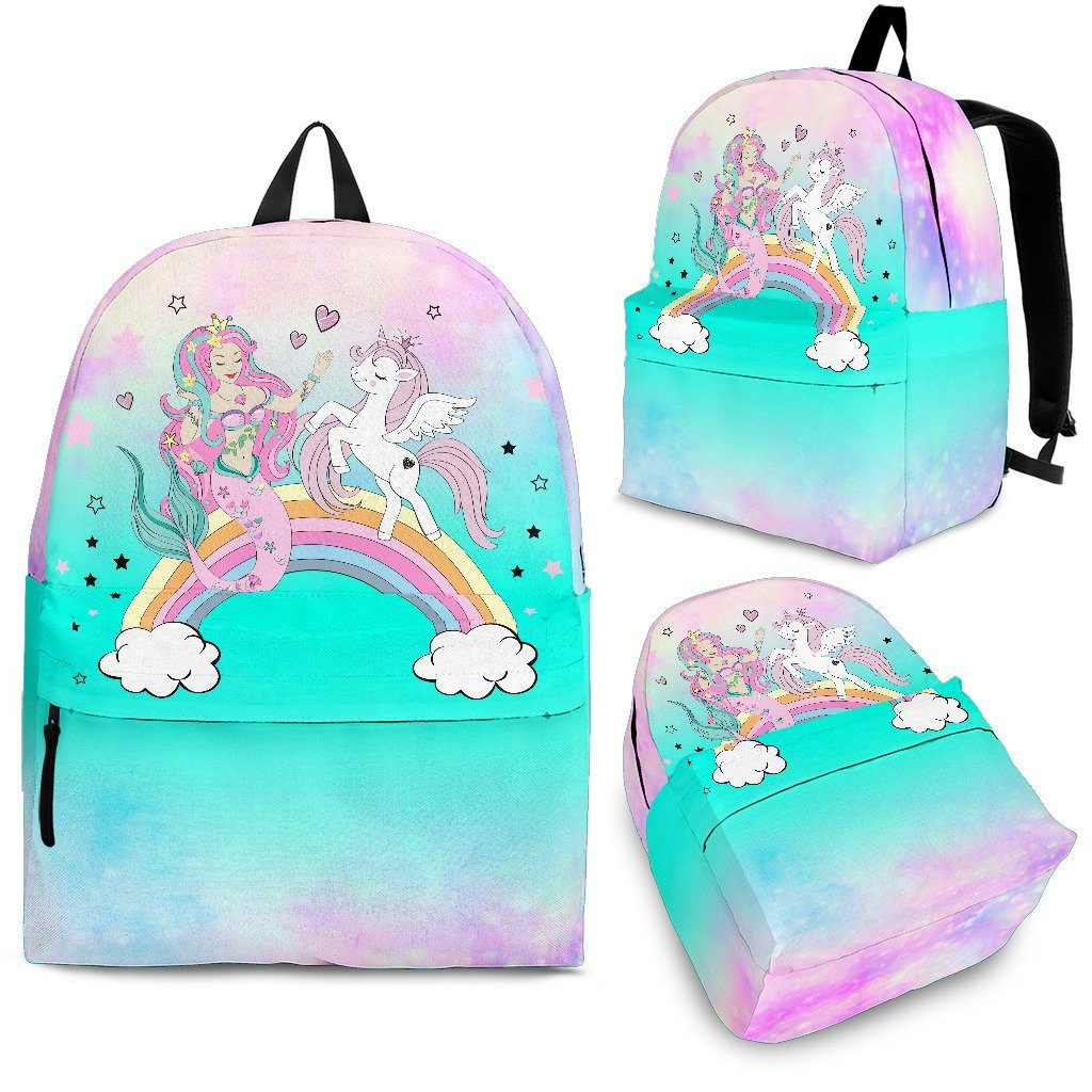 Mermaid Unicorn Backpack Unicorn Backpacks
