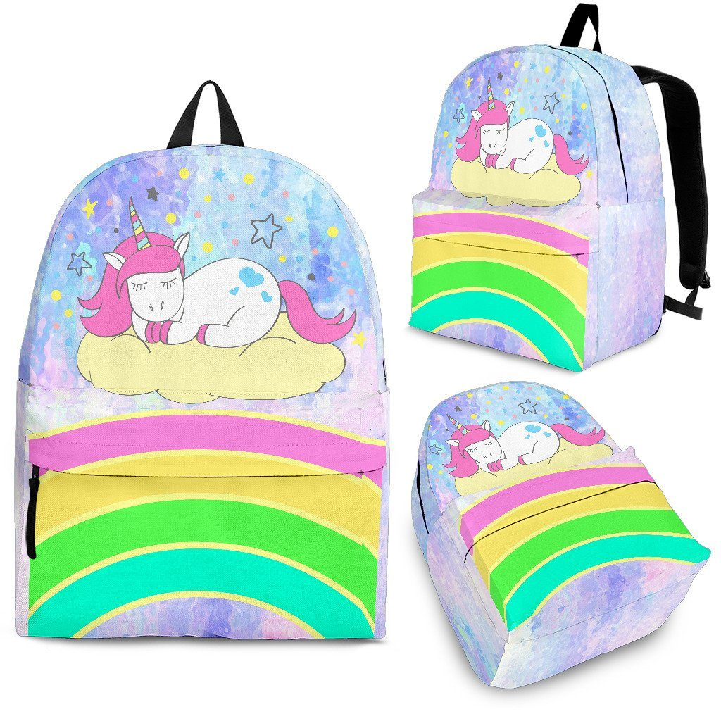 Sleeping Unicorn Backpack Unicorn Backpacks