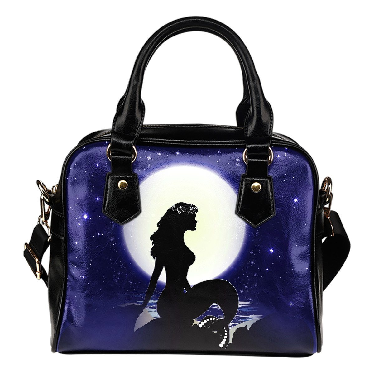 Mermaid Moon Shoulder Handbag Mermaid Purses
