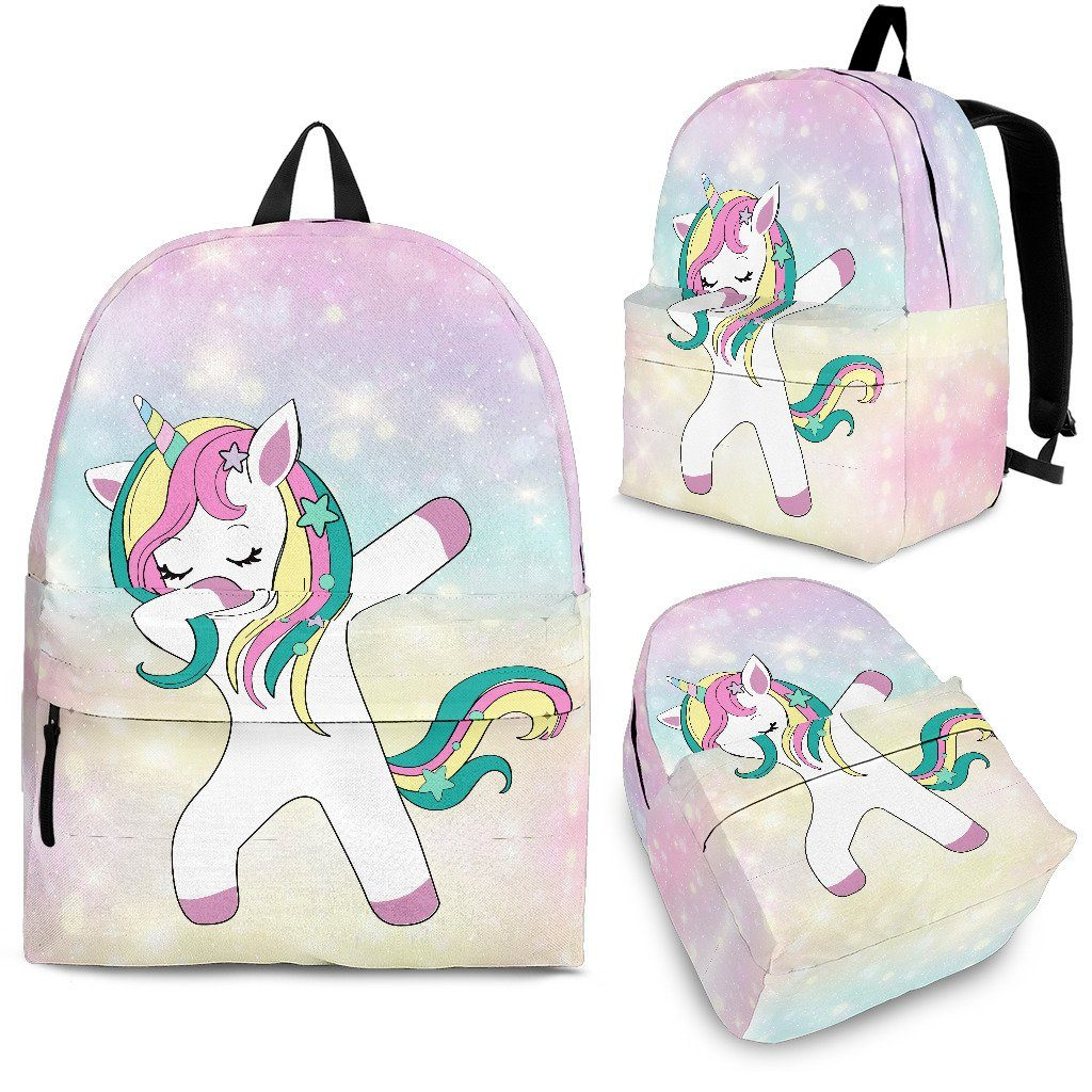 Dabbing Unicorn Backpack Unicorn Backpacks