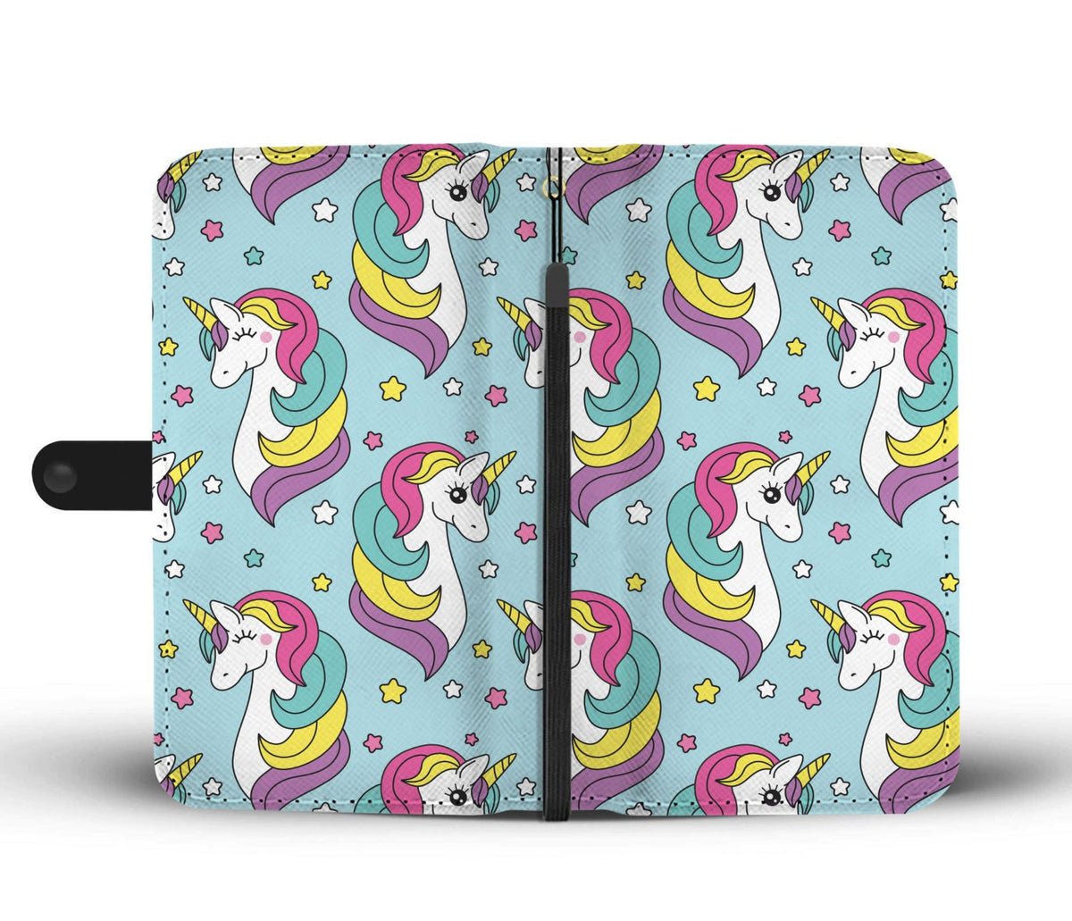 Unicorn Power Phone Case Wallet Wallet Case