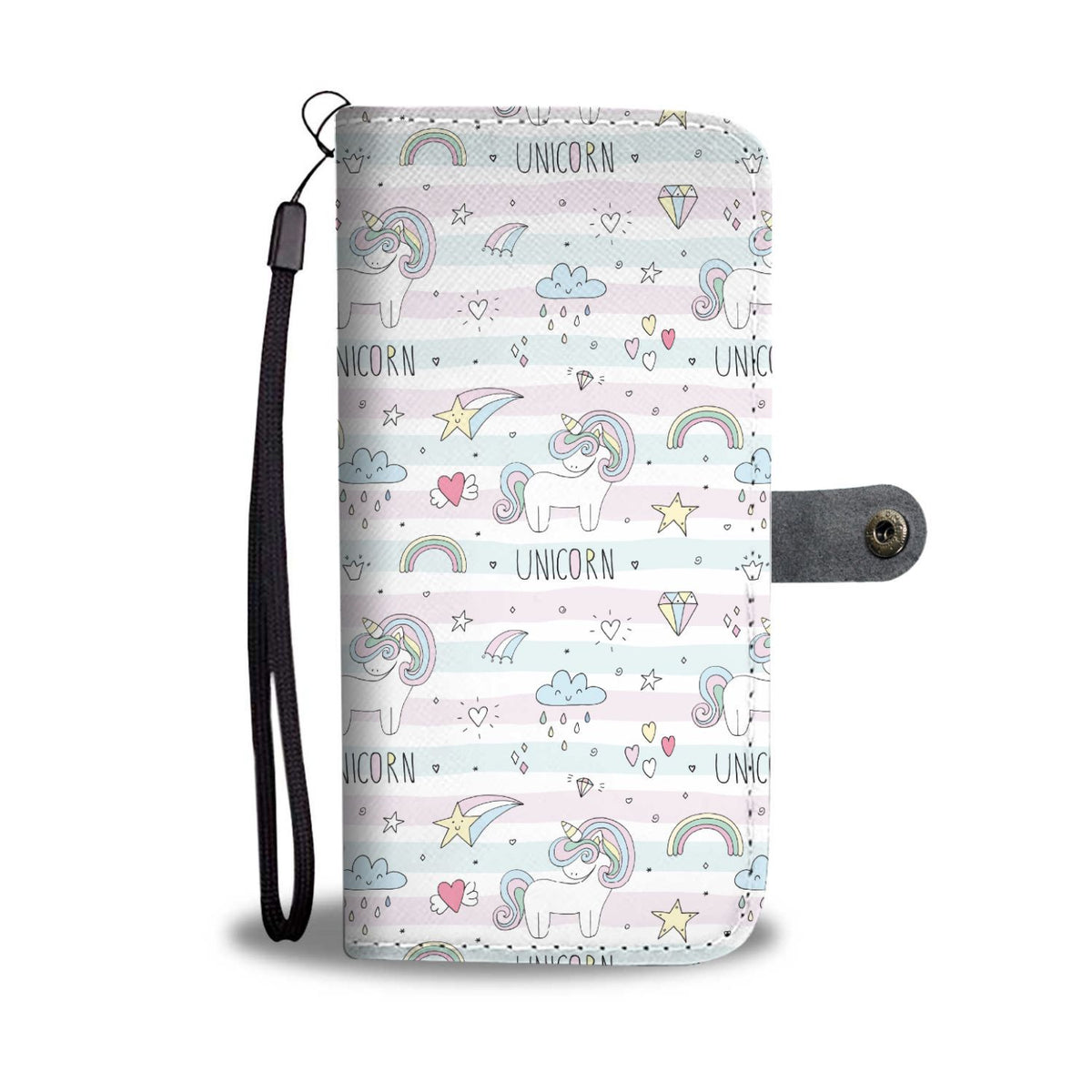Sweet Unicorn Phone Case Wallet Wallet Case