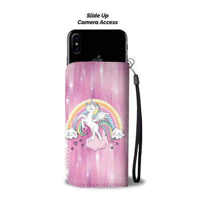 Heavenly Unicorn Phone Case Wallet Wallet Case