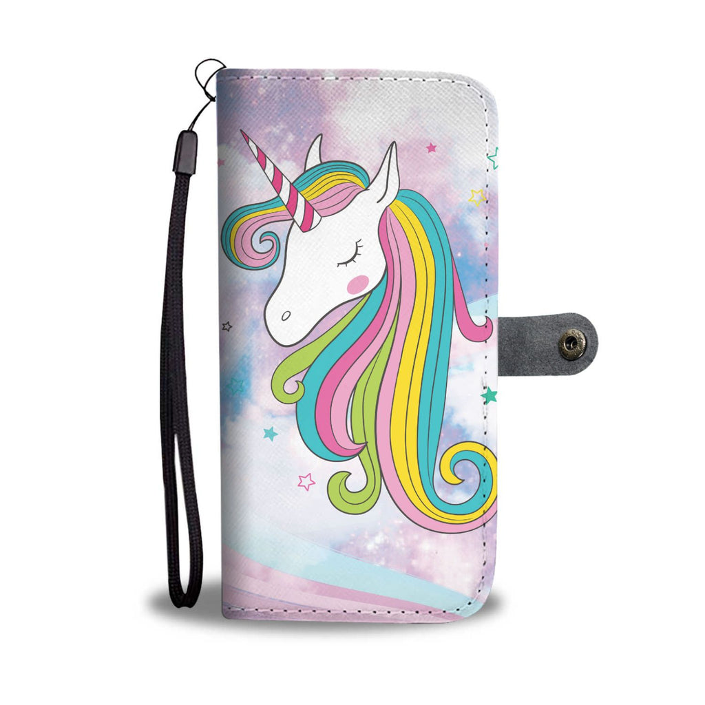 Unicorn Clouds Phone Case Wallet