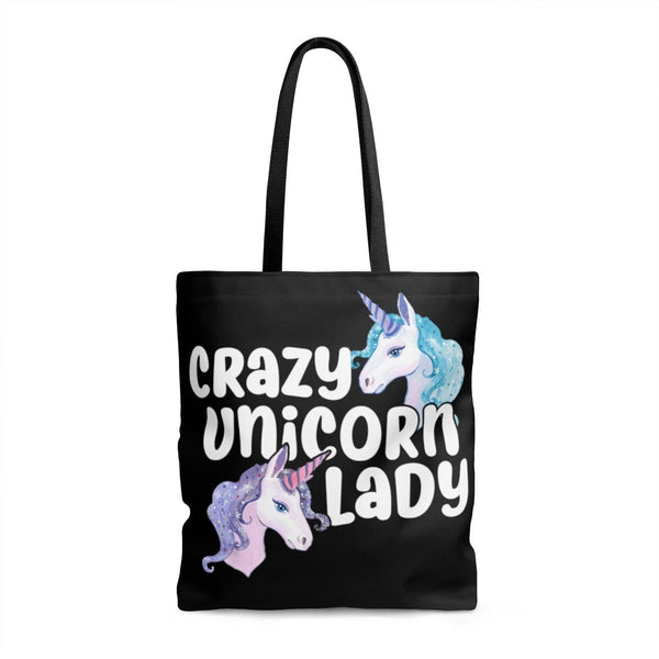 Crazy Unicorn Lady Tote Bag ...