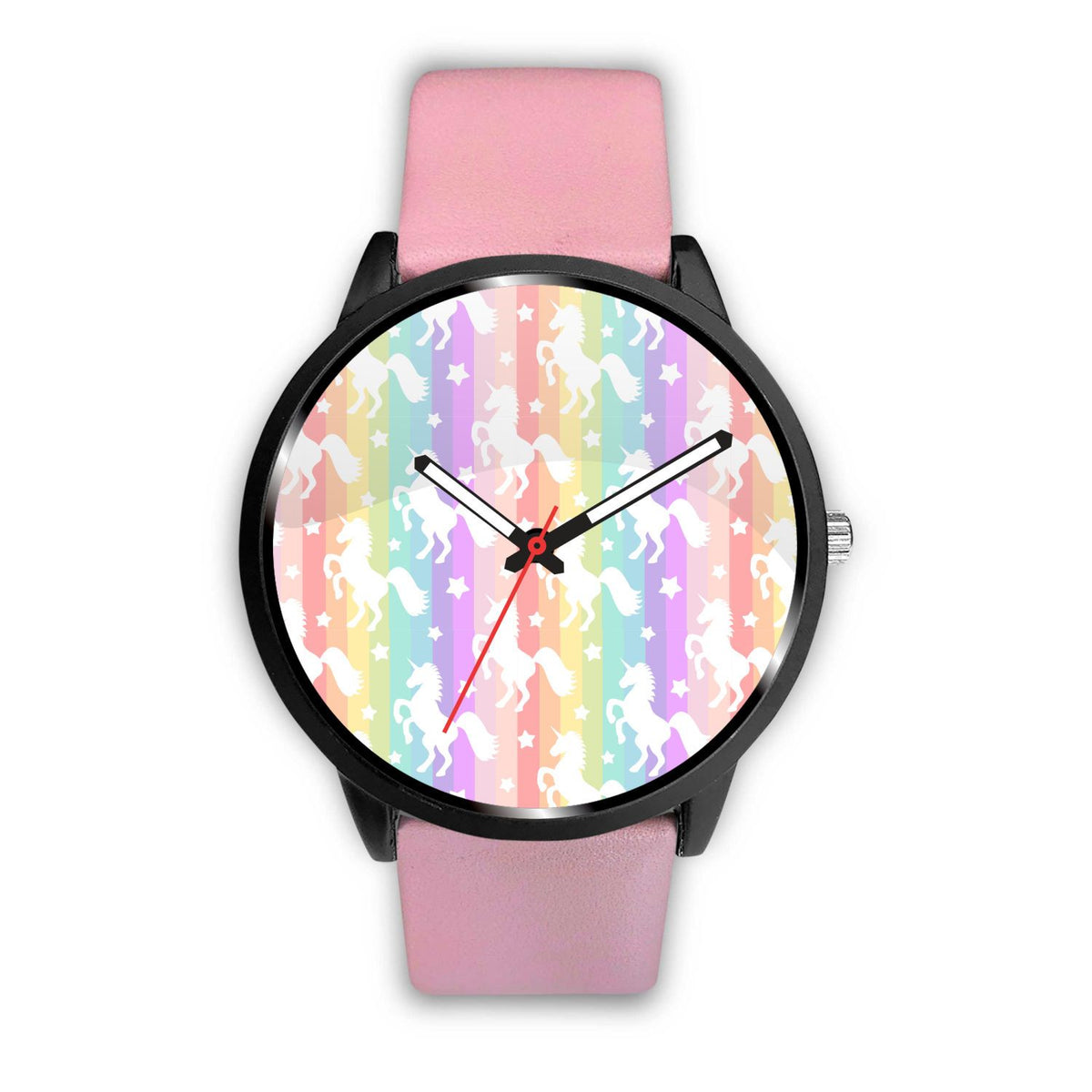 Unicorn Rainbows Watch Watch Mens 40mm Pink