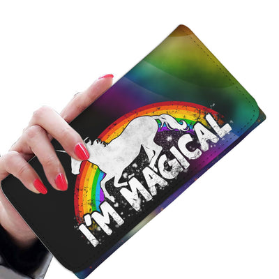 I'm Magical Women's Unicorn Wallet Womens Wallet