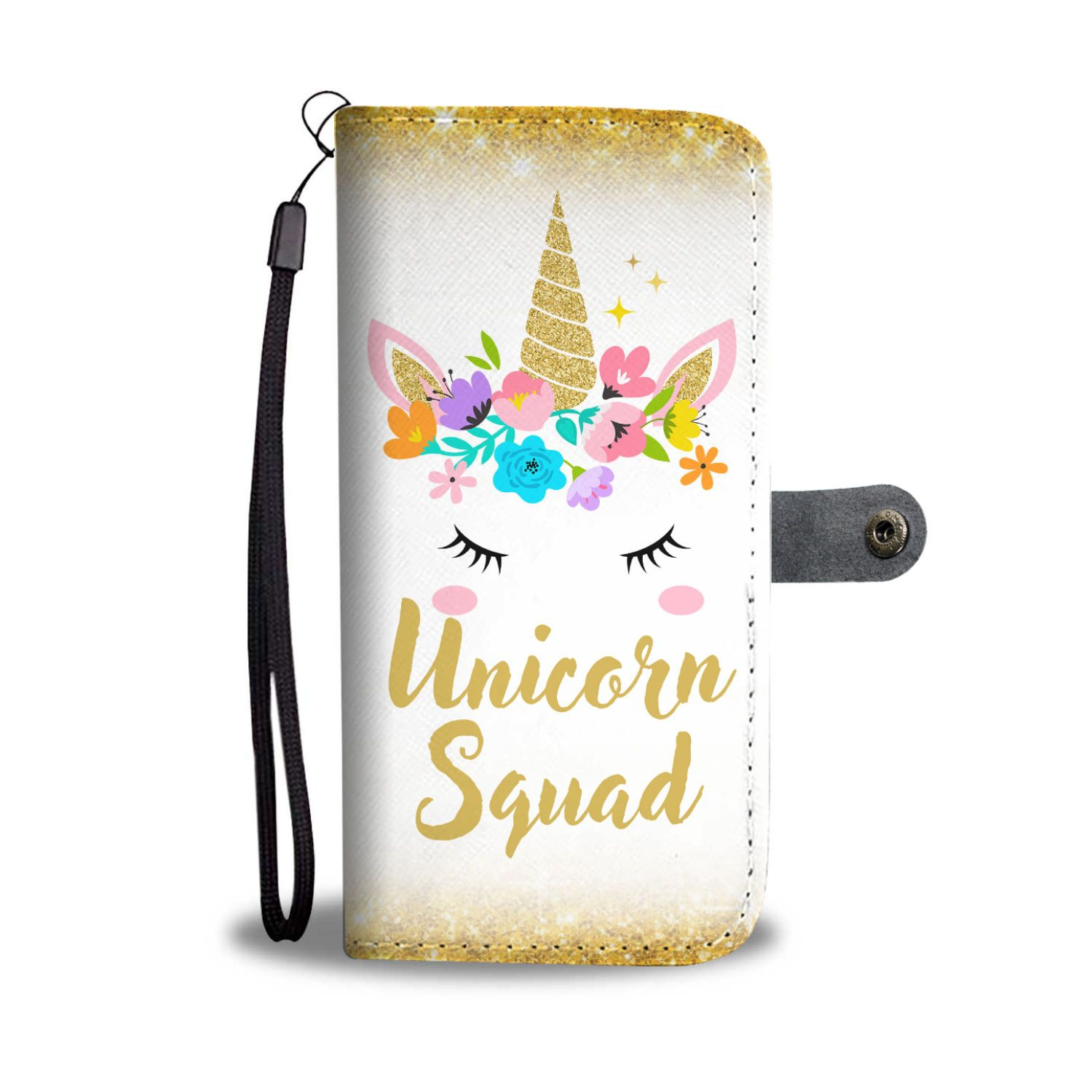 Unicorn Squad Phone Case Wallet Wallet Case