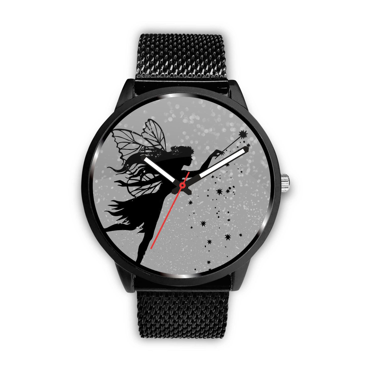 Fairy Dust Watch Watch Mens 40mm Metal Mesh