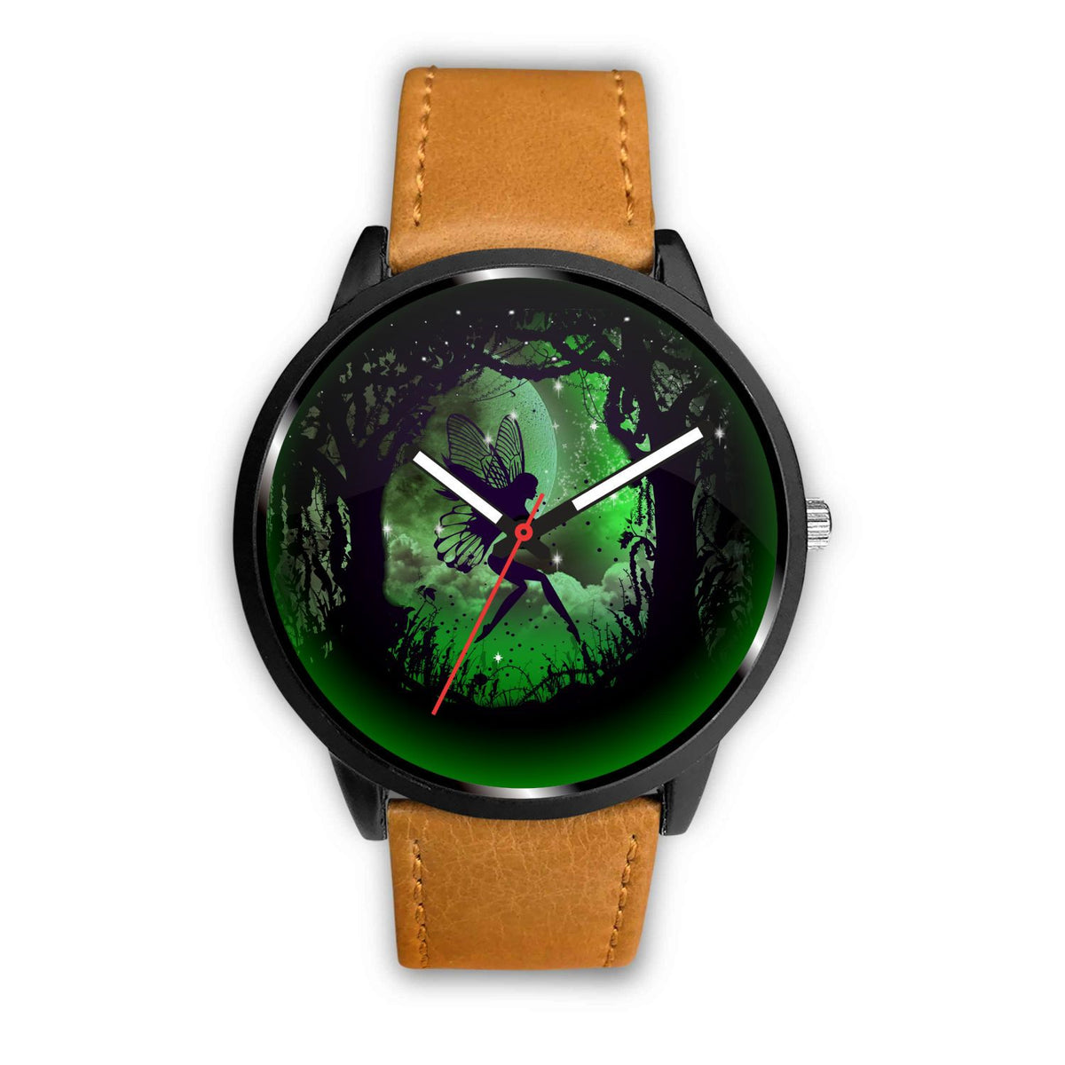 Fairy Paradise Watch Watch Mens 40mm Brown