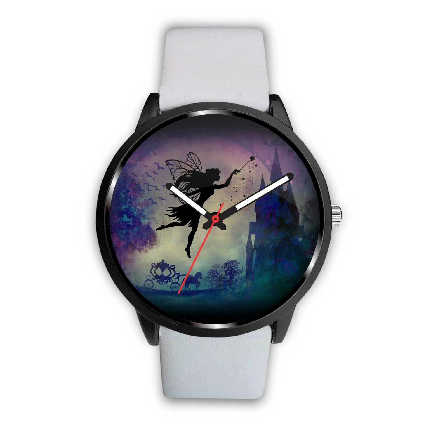 Fairytale Watch Watch Mens 40mm White