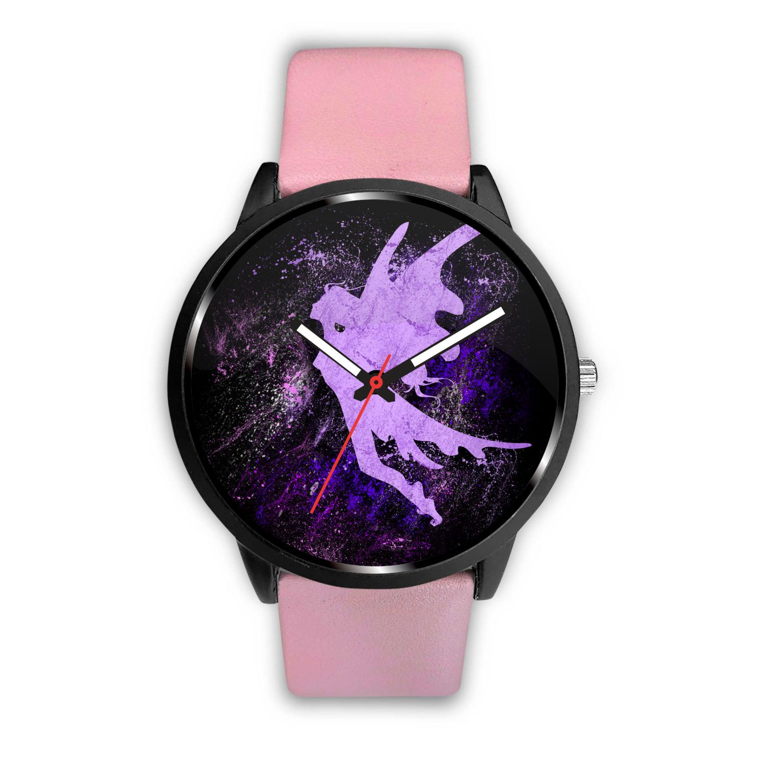 Fairy Splash Watch Watch Mens 40mm Pink