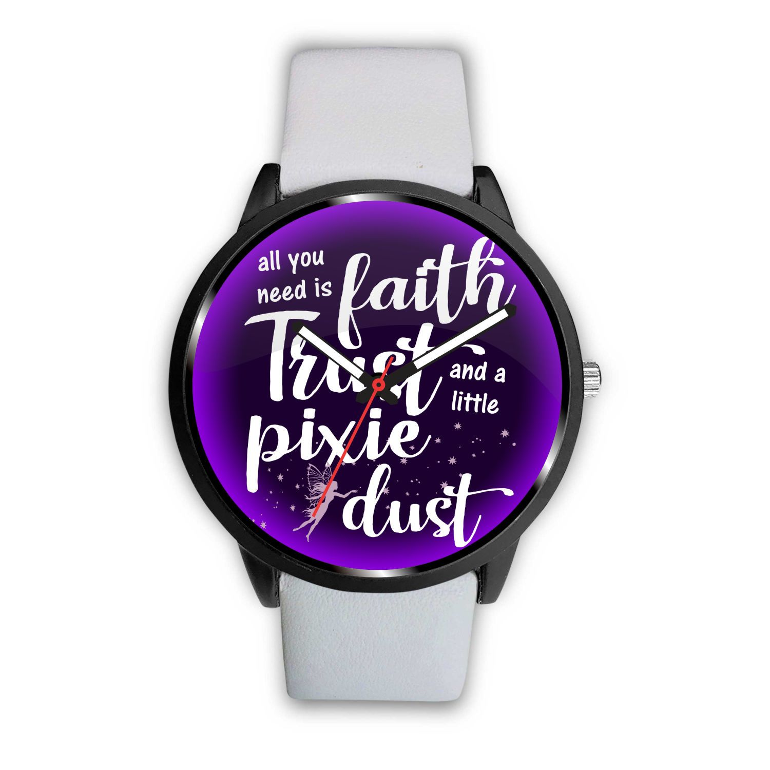 Pixie Dust Fairy Watch Watch Mens 40mm White