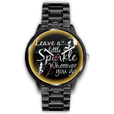 Leave A Little Sparkle Fairy Watch Watch Mens 40mm Metal Link