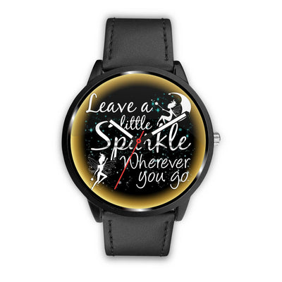 Leave A Little Sparkle Fairy Watch Watch Mens 40mm Black