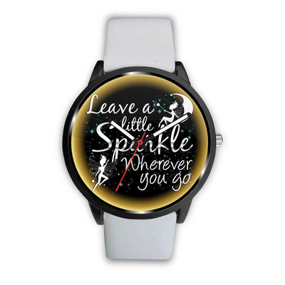 Leave A Little Sparkle Fairy Watch Watch Mens 40mm White