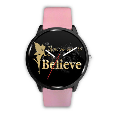 You've Got To Believe Fairy Watch Watch Mens 40mm White