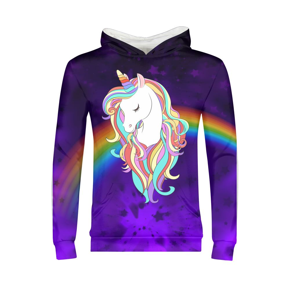 Magical Unicorn Kids Hoodie Apparel