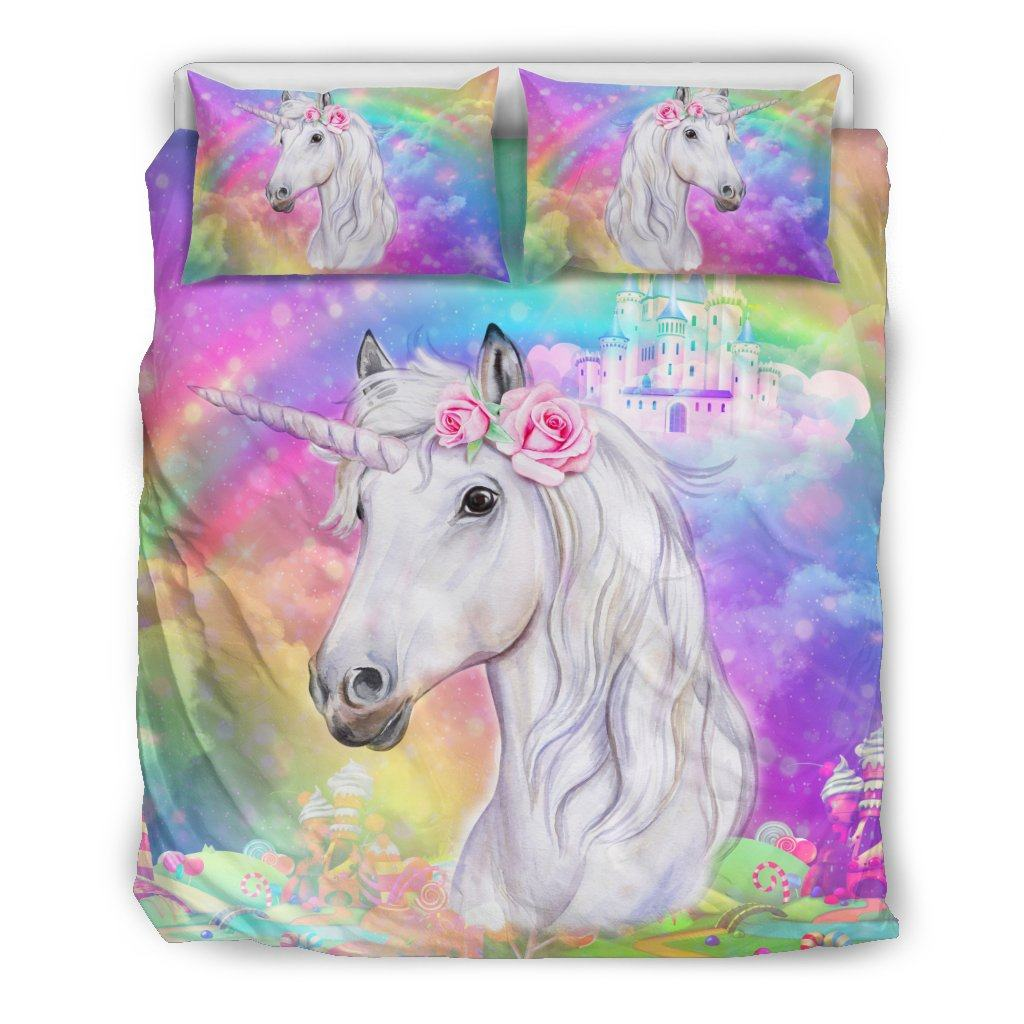 Unicorn Dreamland Bed Set Bed Sets US Queen/Full