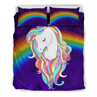 Magical Unicorn Bed Set Bed Sets US Queen/Full