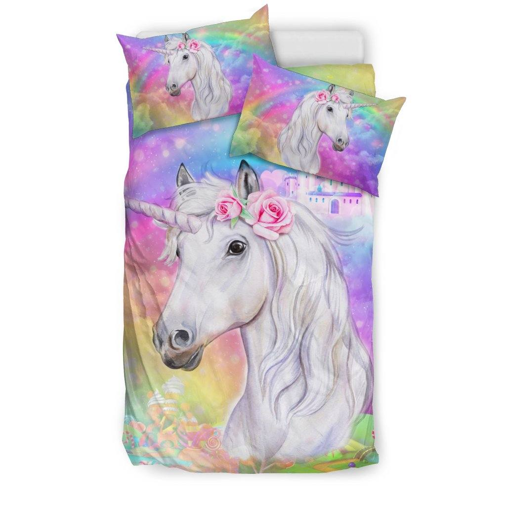 Unicorn Dreamland Bed Set Bed Sets US Twin