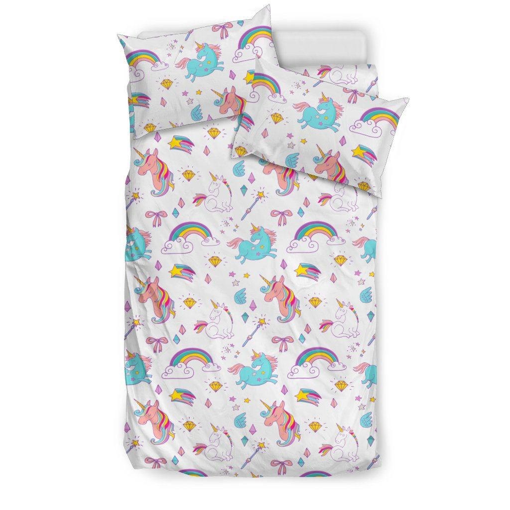 Unicorn Delight Bed Set Bed Sets US Twin