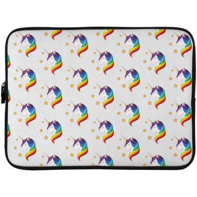 Unicorn Fantasy Laptop Sleeve Apparel Laptop Sleeve - 15 Inch White One Size