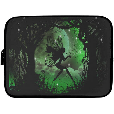 Fairy Laptop Sleeve Apparel Laptop Sleeve - 10 inch Black One Size