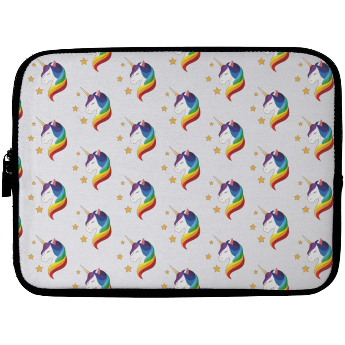 Unicorn Fantasy Laptop Sleeve Apparel Laptop Sleeve - 10 inch White One Size