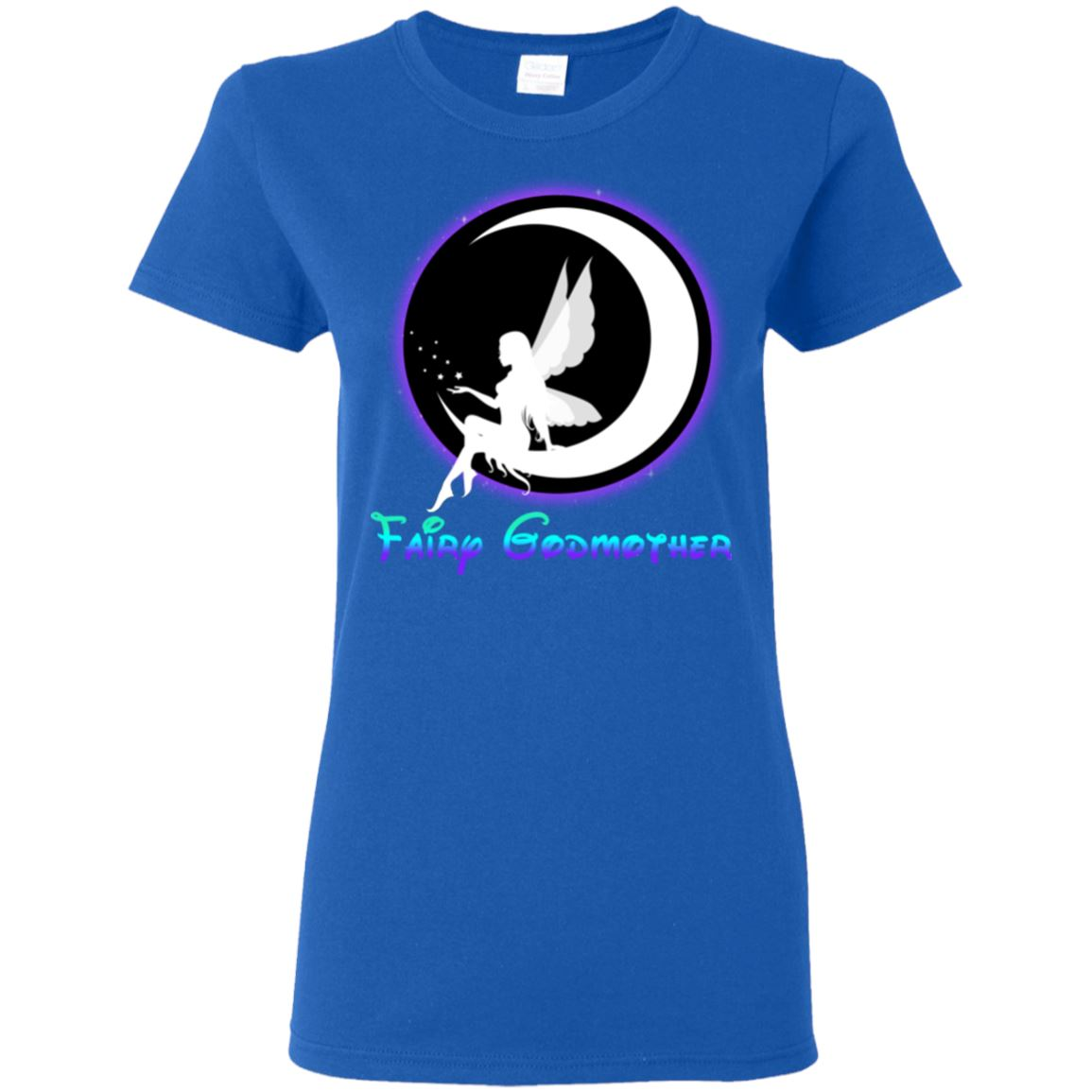 Fairy Godmother Ladies T-Shirt T-Shirts Royal S