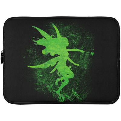 Fairy Art Laptop Sleeve Apparel Laptop Sleeve - 15 Inch Black One Size