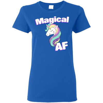 Magical AF Ladies' T-Shirt Apparel Royal S