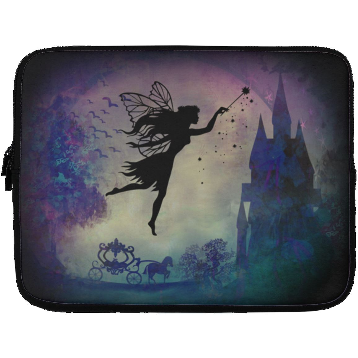 Fairytale Laptop Sleeve Apparel Laptop Sleeve - 13 inch Black One Size
