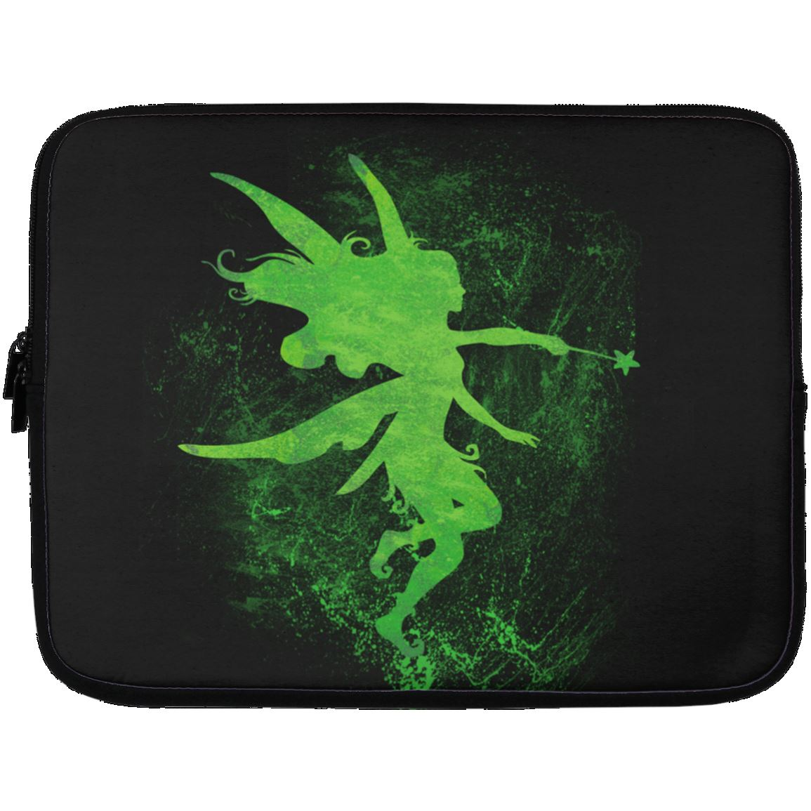 Fairy Art Laptop Sleeve Apparel Laptop Sleeve - 13 inch Black One Size