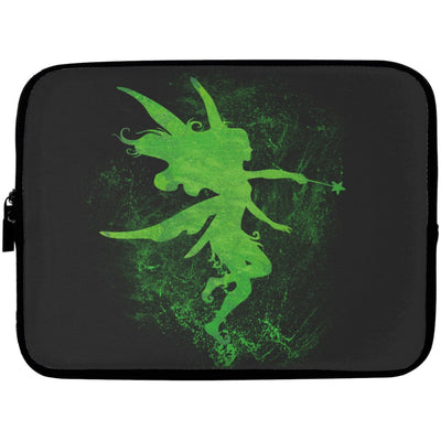 Fairy Art Laptop Sleeve Apparel Laptop Sleeve - 10 inch Black One Size