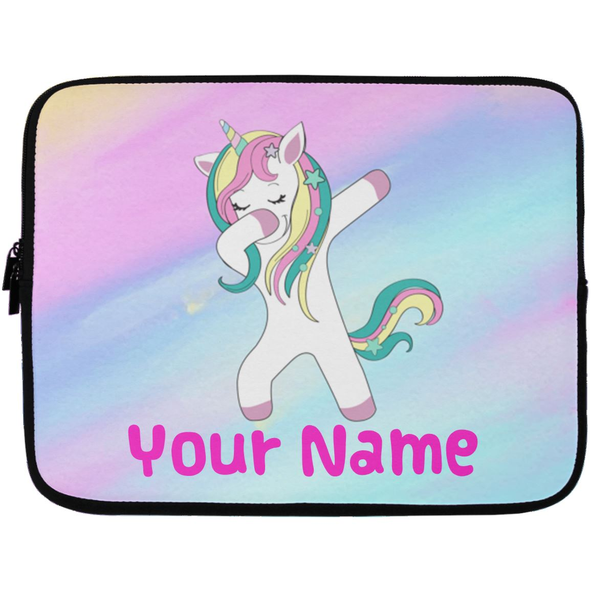 Personalized Unicorn Dabbing Laptop Sleeve Case Accessories 13 inch
